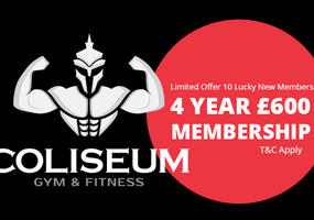 4 Year Membership for only £600